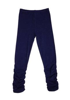 NANO - Navy legging with multicolored confetti print 'Sweet bohemian'