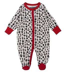 DEUX PAR DEUX- Pyjama une pièce à motif de monstres