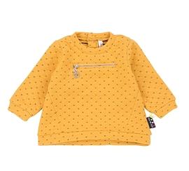 DEUX PAR DEUX- Chandail matelassé jaune