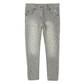 BOBOLI- Jeans stretch gris