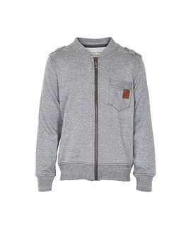 MINYMO- Cardigan molleton gris