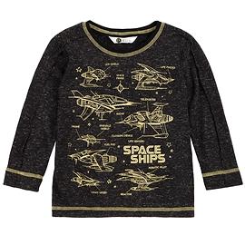 PETIT LEM- T-shirt manches longues gris