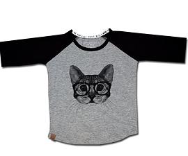 L&P- T-shirt manches longues 'Chat'