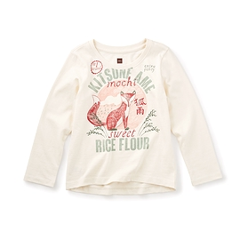 TEA - T-shirt à manches longues 'Ame Kitsune'