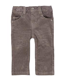 DEUX PAR DEUX-pantalons velours côtelé extensible.