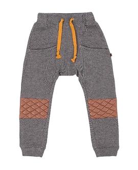 DEUX PAR DEUX- Pantalon en molleton gris brun