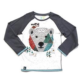 """NANÖ - Tshirt à manche longue à imprimé d'ours """"Artic dream"""""""