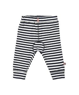 MINYMO- Pantalon rayé avec bouton