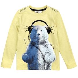 PETIT LEM- T-shirt manches longues ours