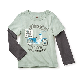 TEA COLLECTION- T-shirt manches longues 'Ikuzo'