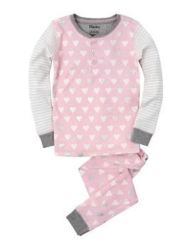 HATLEY- pyjama coeurs métalliques