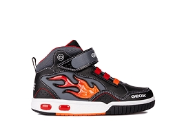 GEOX - Chaussures 'J Gregg C' Noires/Rouges