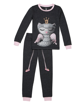 "PETIT LEM - Pyjama ''Owl princess"""
