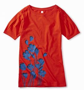 TEA COLLECTION - Robe 'Breezy' avec imprimé de fleur