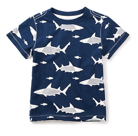 TEA COLLECTION - T-shirt ''Shiver of Sharks''