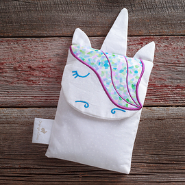 Hot and cold bag, unicorn purple