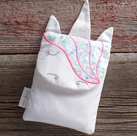 PRE-ORDER Hot and cold bag, unicorn pink