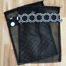 Le Noir et le Blanc - 2 grands sacs (filet noir)