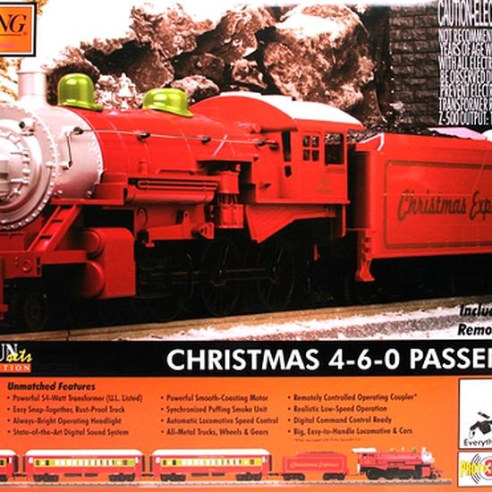 MTH - 30-4218-1 - Noel 4-6-0 Vapeur Passager