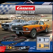 30194 - Carrera - Ford Fastbacks Set, Digital 132