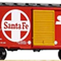 38840 Santa Fe Box Car