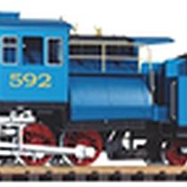 "PIKO - 38241 - 2-6-0 Camelback Loco ""Blue Comet"" & Tender + Son & Fumée"