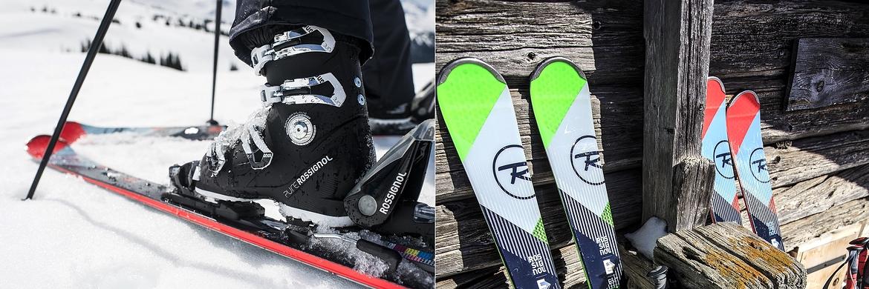 Skis alpins/bottes