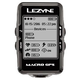 LEZYNE MACRO GPS CYCLOMÈTRE