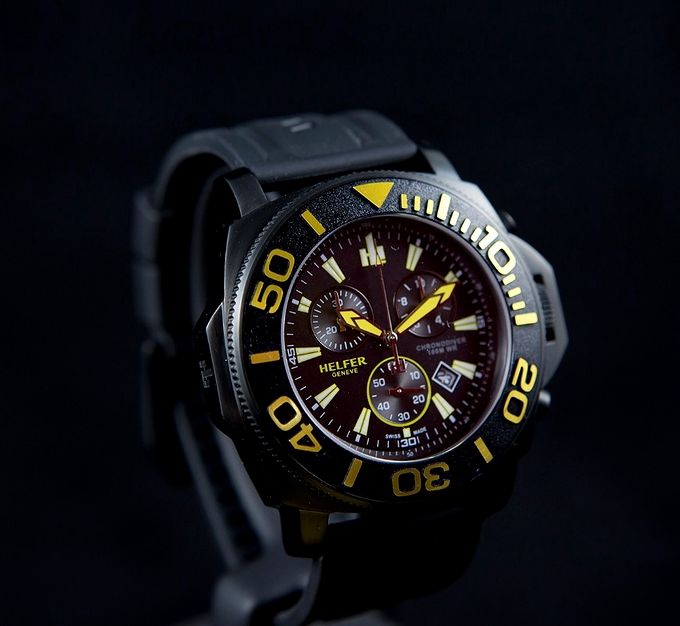 Chronodiver PWR Yellow - 47mm