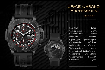 Chronospace PRO - 47mm AUTOMATIC