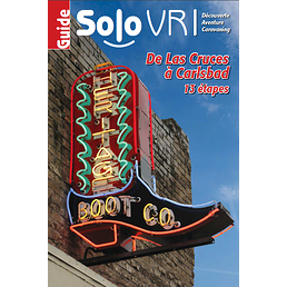 SoloVR Sud-Ouest américain - De Las Cruces au Nouveau-Mexique à Carlsbad au Nouveau-Mexique (13 étapes - version numérique)