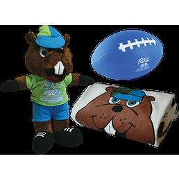 Trio serviette Campi - Campi la mascotte FQCC - Ballon de football