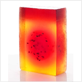 Mimosa and Fig glycerine soap