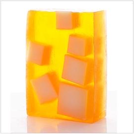Savon glycérine nourrissant au kumquat et à la mangue