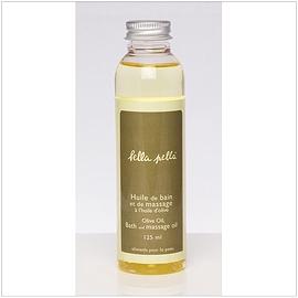Huile de bain et à massage à l'huile d'olive