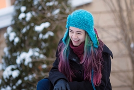 Tuque turquoise