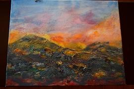 Peinture Acrylique Aube