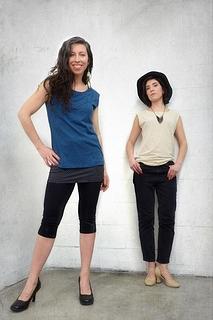 T-shirt réversible coton bio & bambou
