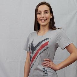 T-Shirt Gris - Logo V