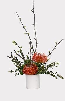 Création florale: ORANGE