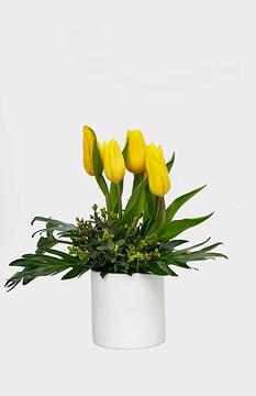 Création florale: JAUNE