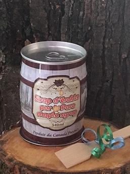 Sirop d'érable gallon (8 petits barils de 540 mL)