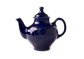 Théière de porcelaine antique