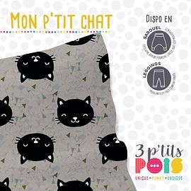 Pantalon sarouel Mon p'tit chat