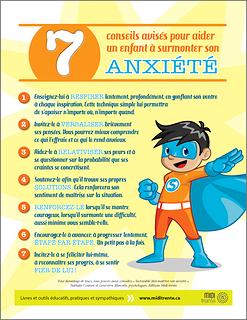 7 conseils avisés pour aider un enfant à surmonter son anxiété