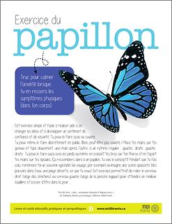 Exercice du papillon : pour calmer les symptômes physiques de l'anxiété