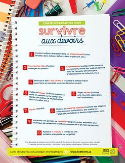 Stratégies créatives pour survivre aux devoirs