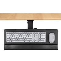 Support clavier articulé rail 17 3/4''