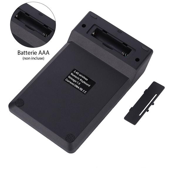 Pavé numérique USB sans fil