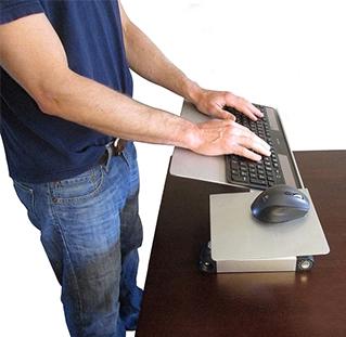 Support à clavier et souris